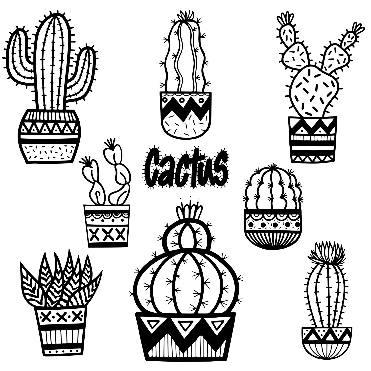 cactus drawing top cactus clipart images clipartioncom drawing cactus