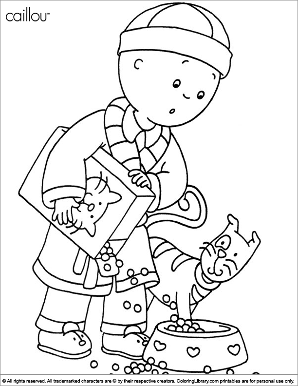 caillou coloring sheets caillou coloring page free caillou coloring pages coloring caillou sheets