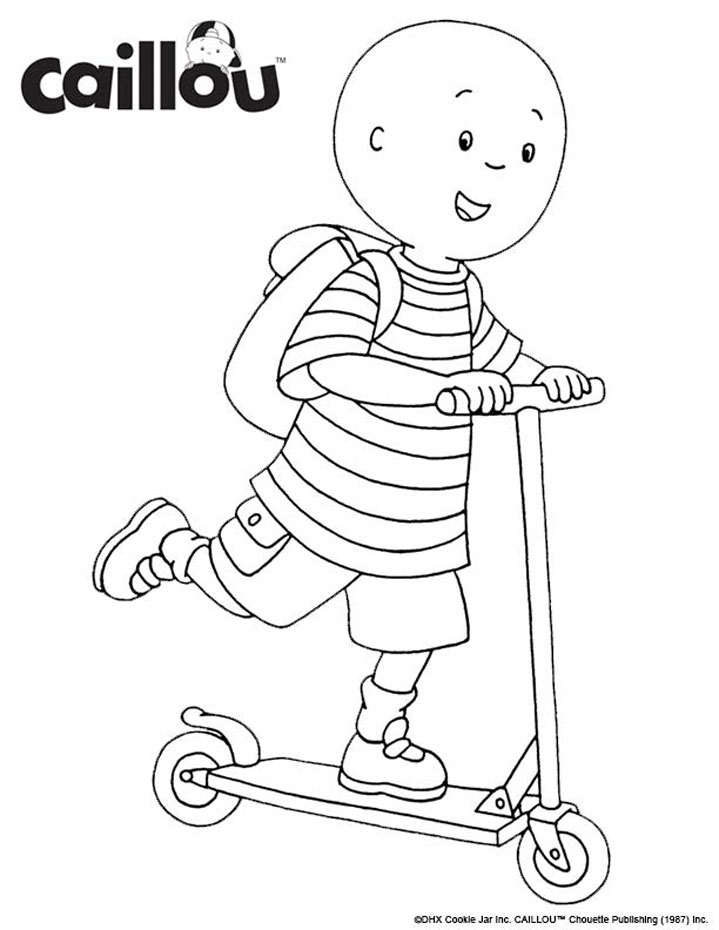 caillou coloring sheets caillou coloring pages to download and print for free sheets coloring caillou