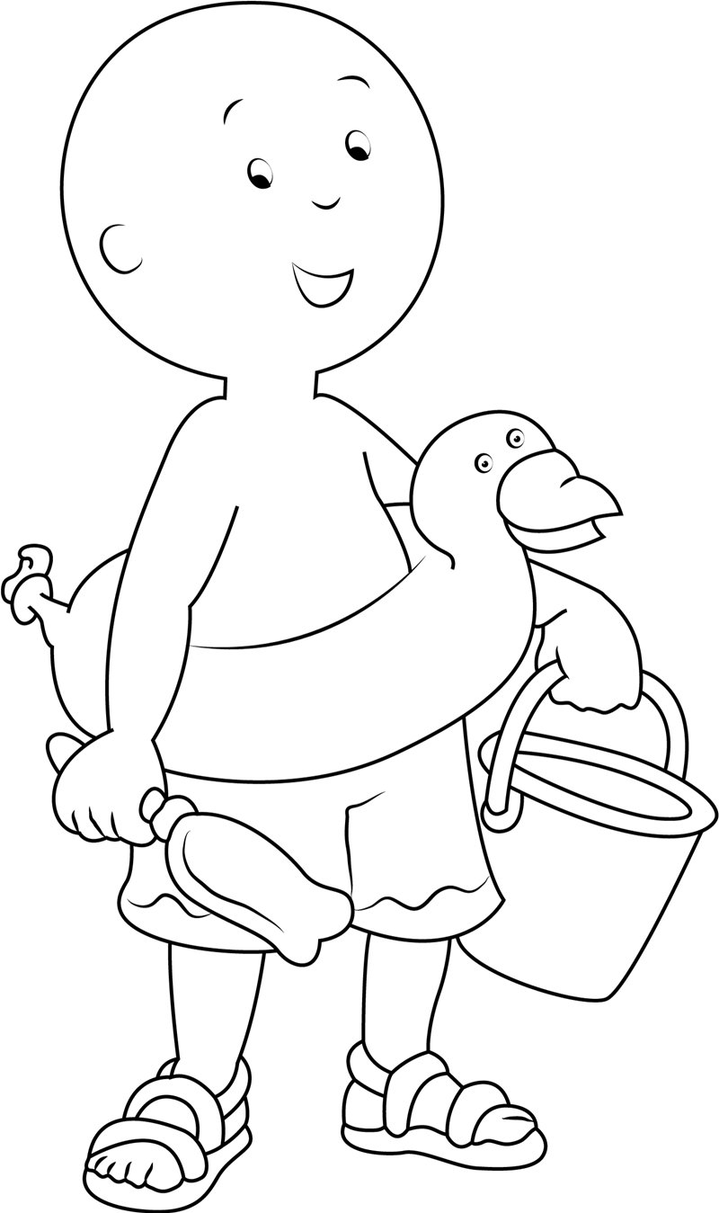 caillou coloring sheets caillou welcoming you coloring page free caillou coloring caillou sheets