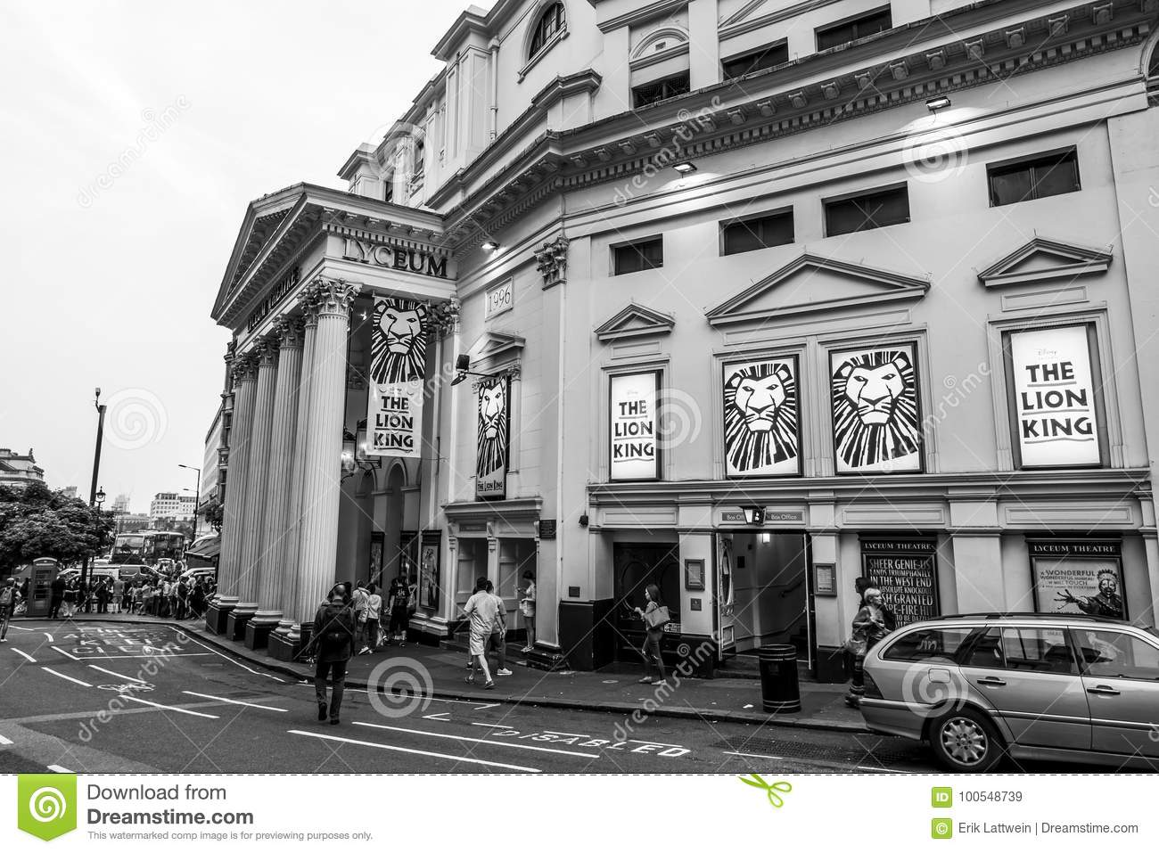 capital of great britain famous luceum theatre in london the lion king musical of britain great capital