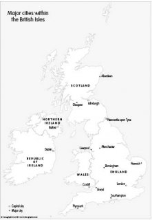 capital of great britain major cities within the british isles set of 3 099 great of capital britain