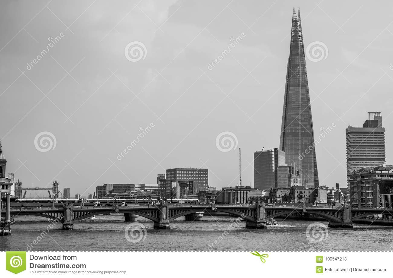capital of great britain the shard tower in london view from millenium bridge britain of great capital