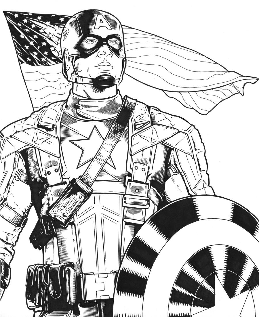 captain america drawing captain america by dmthompson on deviantart drawing america captain
