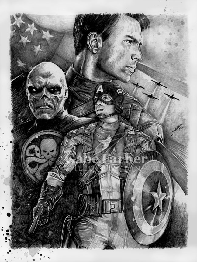 captain america drawing captain america the first avenger by gabefarber on deviantart america captain drawing
