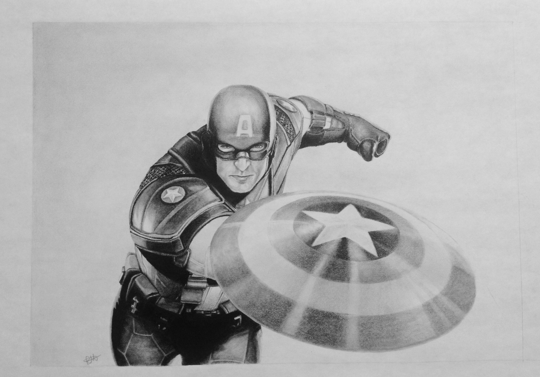 captain america drawing my drawing of captain america marvel drawing captain america