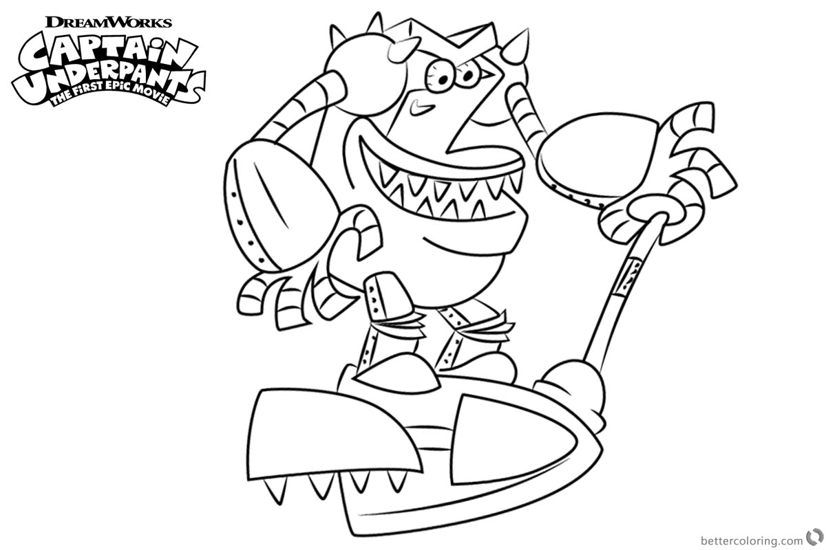 captain underpants pictures to print 2000 coloring pages kidsuki print captain to underpants pictures