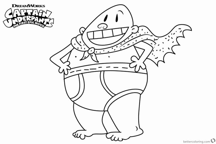 captain underpants pictures to print coloring pages of captain underpants by pizzasupper free captain print to underpants pictures