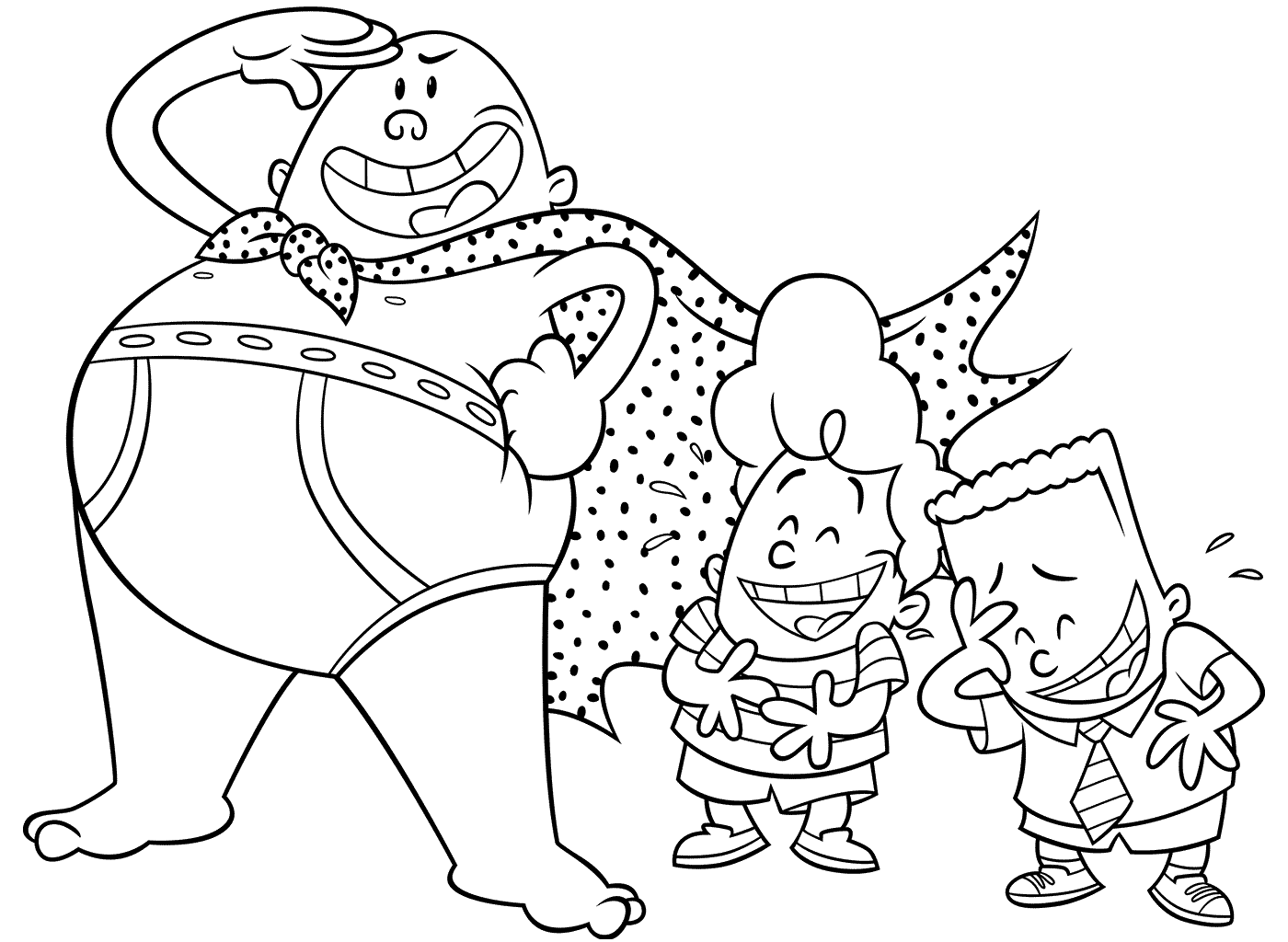 captain underpants pictures to print free printable captain underpants coloring pages scribblefun print underpants pictures captain to