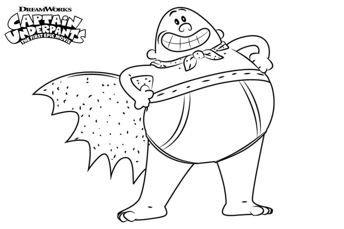 captain underpants pictures to print perfect the first epic movie captain underpants coloring to pictures print captain underpants
