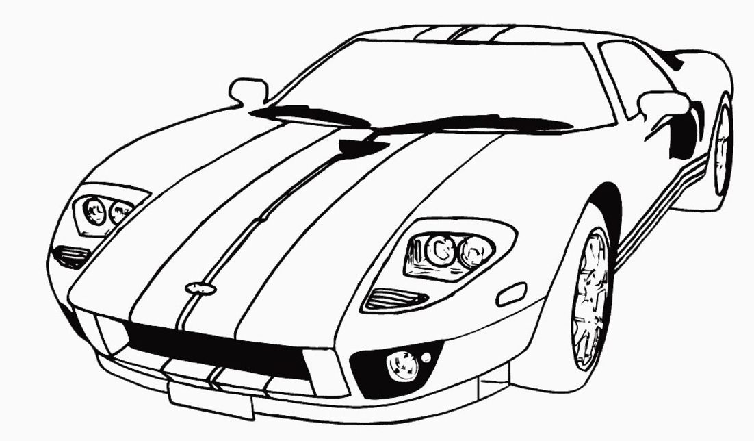 car color sheets muscle car coloring pages to download and print for free sheets car color