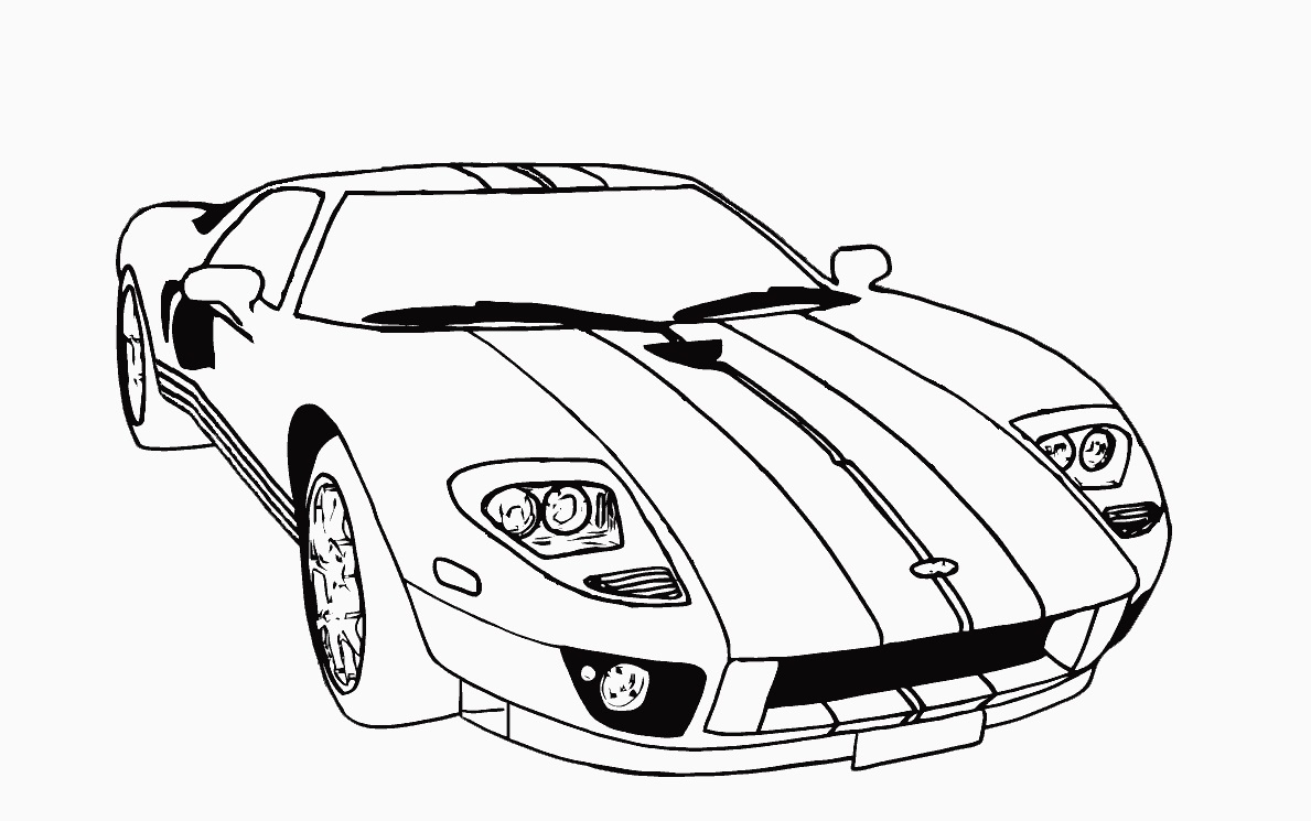 car pictures to colour in lamborghini coloring pages to print coloring home car colour pictures to in
