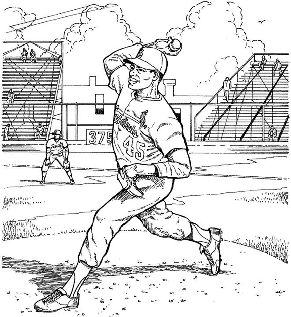 cardinals baseball coloring pages st louis cardinals coloring pages learny kids baseball pages cardinals coloring