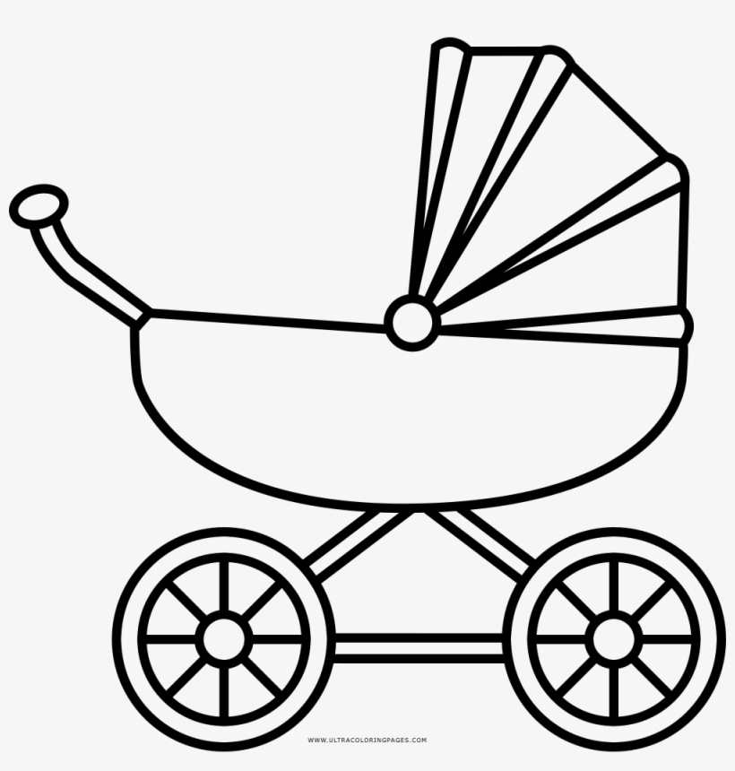 carriage coloring pages baby carriage line art free clip art coloring carriage pages
