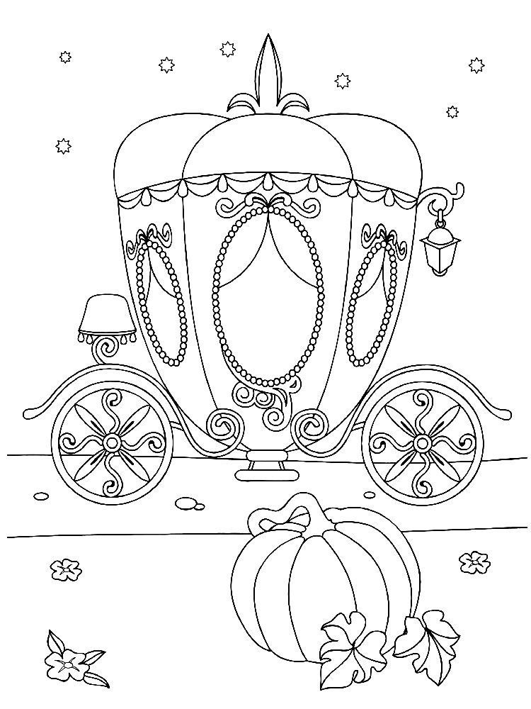 carriage coloring pages carriage of princess coloring page to download or print carriage coloring pages