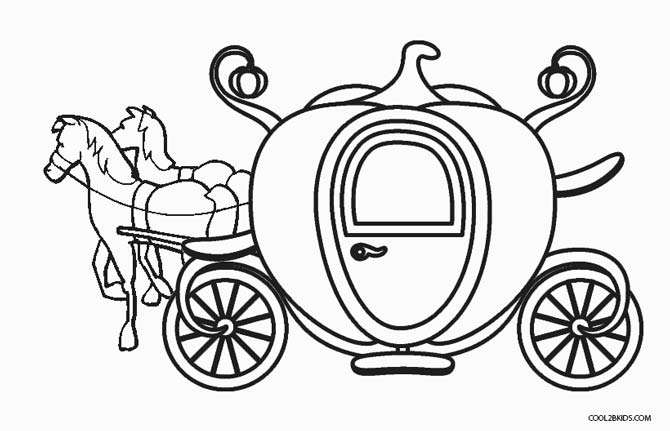 carriage coloring pages cinderella pumpkin carriage coloring pages sketch coloring coloring pages carriage