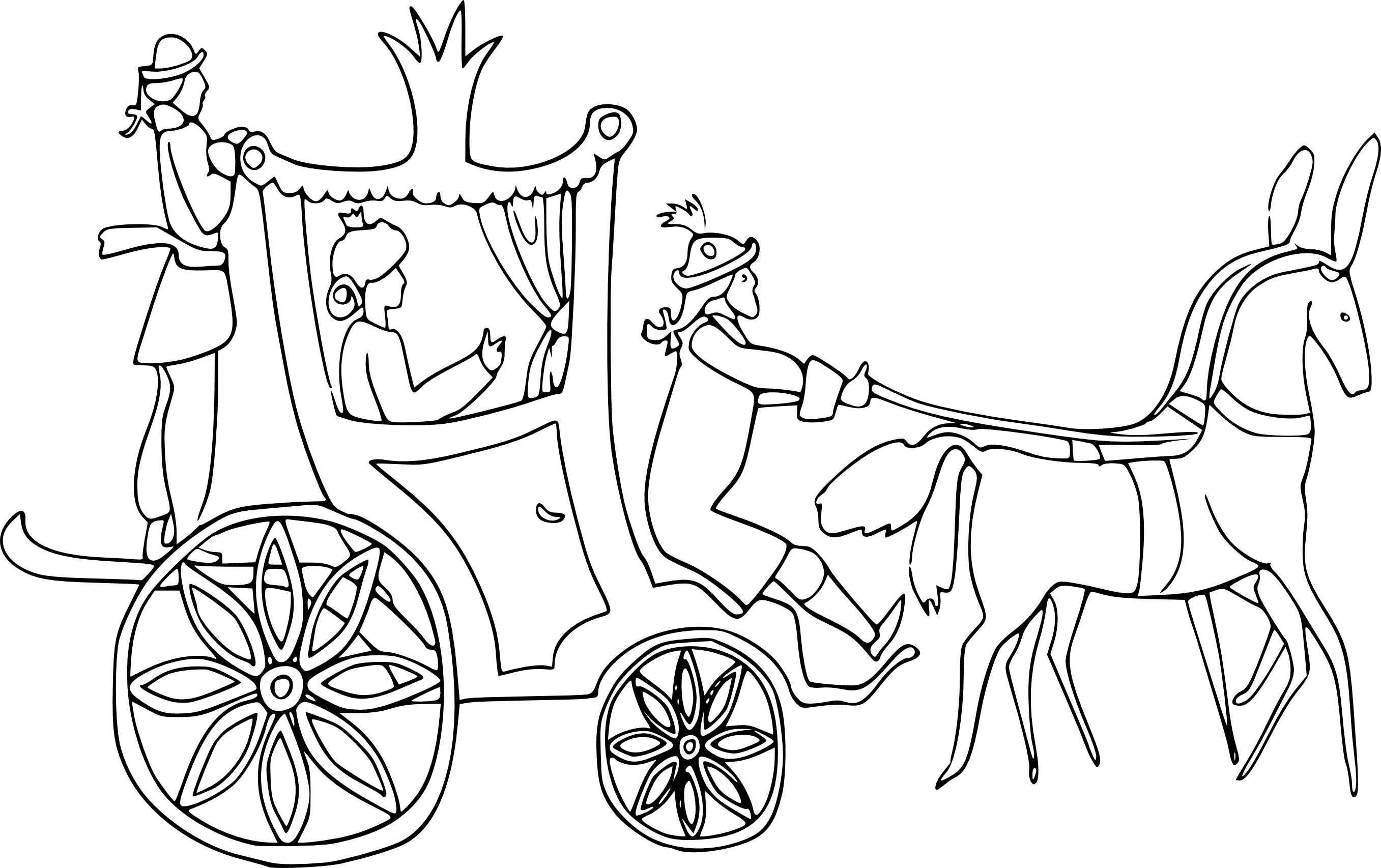 carriage coloring pages horse and buggy drawing at getdrawings free download carriage pages coloring