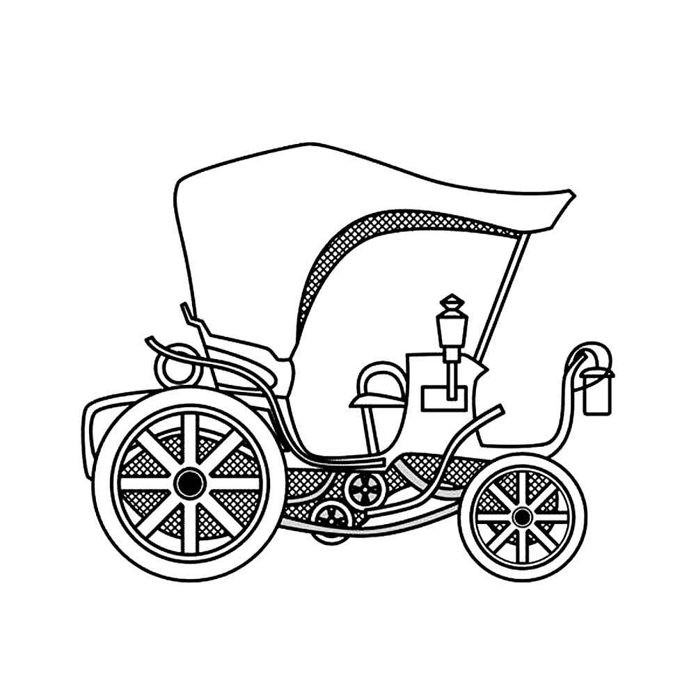 carriage coloring pages horse carriage drawing at getdrawings free download pages carriage coloring