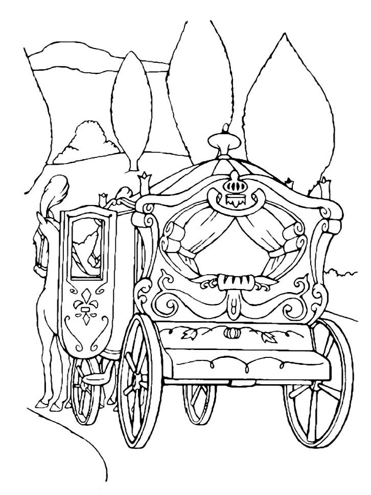 carriage coloring pages hunchback carriage coloring pages hellokidscom carriage coloring pages