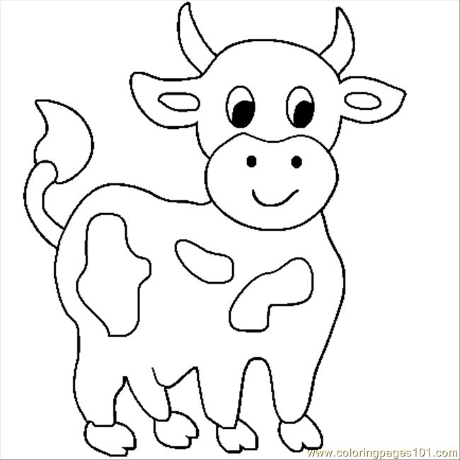 cartoon cow coloring pages cartoon cow coloring pages clipart best cow coloring cartoon pages
