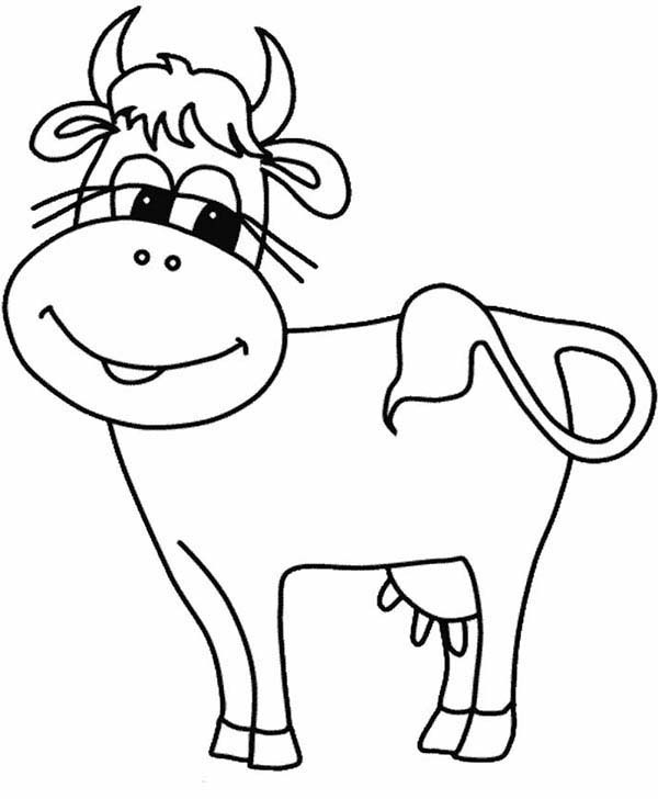 cartoon cow coloring pages cow cartoon cute free download coloring page coloring cow pages cartoon