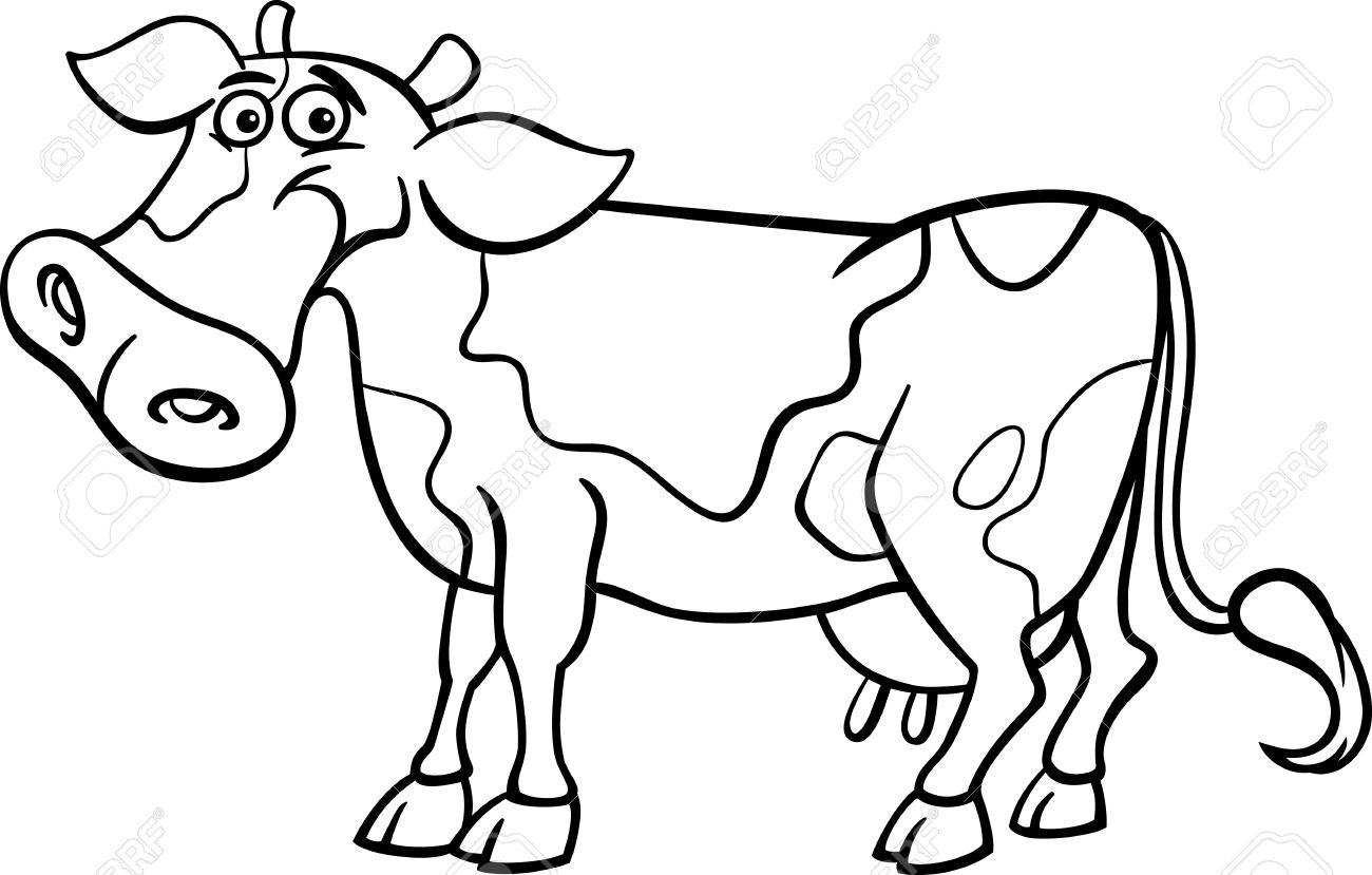 cartoon cow coloring pages cute cow and bumblebee coloring page woo jr kids pages cow coloring cartoon