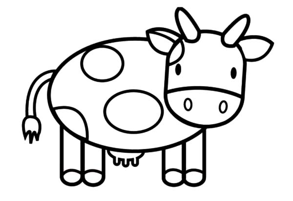 cartoon cow coloring pages cute cow coloring pages getcoloringpagescom coloring pages cartoon cow