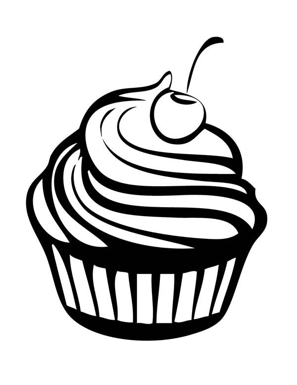 cartoon cupcake coloring pages cute cupcake coloring pages getcoloringpagescom cartoon cupcake coloring pages