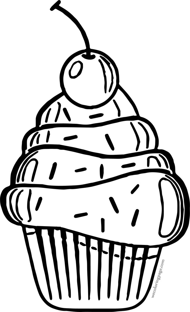 cartoon cupcake coloring pages cute cupcake coloring pages getcoloringpagescom coloring cupcake cartoon pages