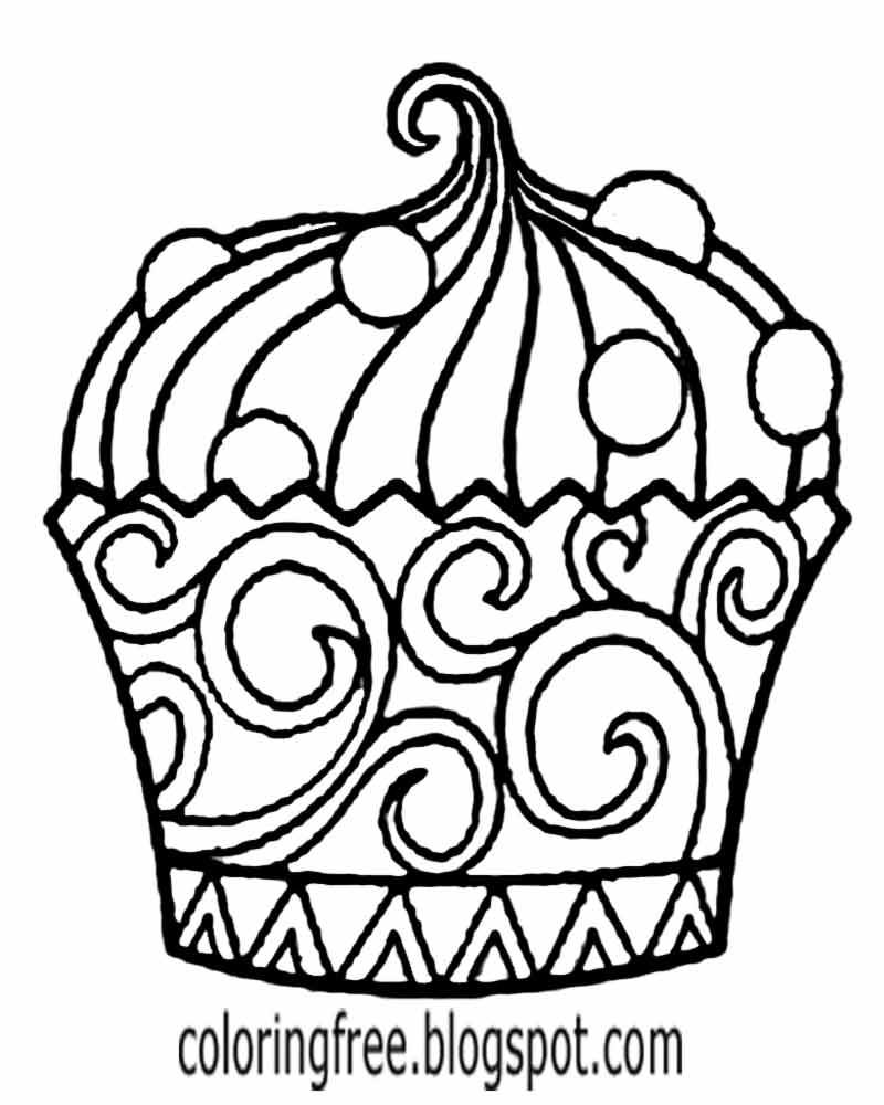 cartoon cupcake coloring pages free printable cupcake coloring pages for kids cartoon pages cupcake coloring