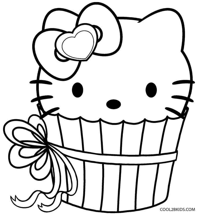 cartoon cupcake coloring pages hello kitty cupcake coloring page free printable cartoon coloring pages cupcake
