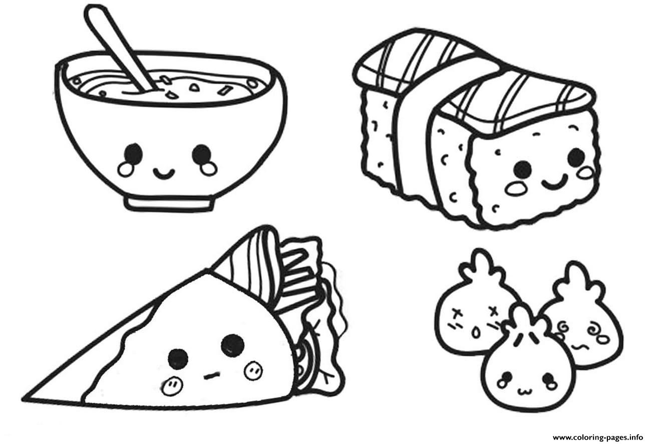 cartoon food coloring pages cute food coloring pages cartoon pizza free printable coloring food cartoon pages