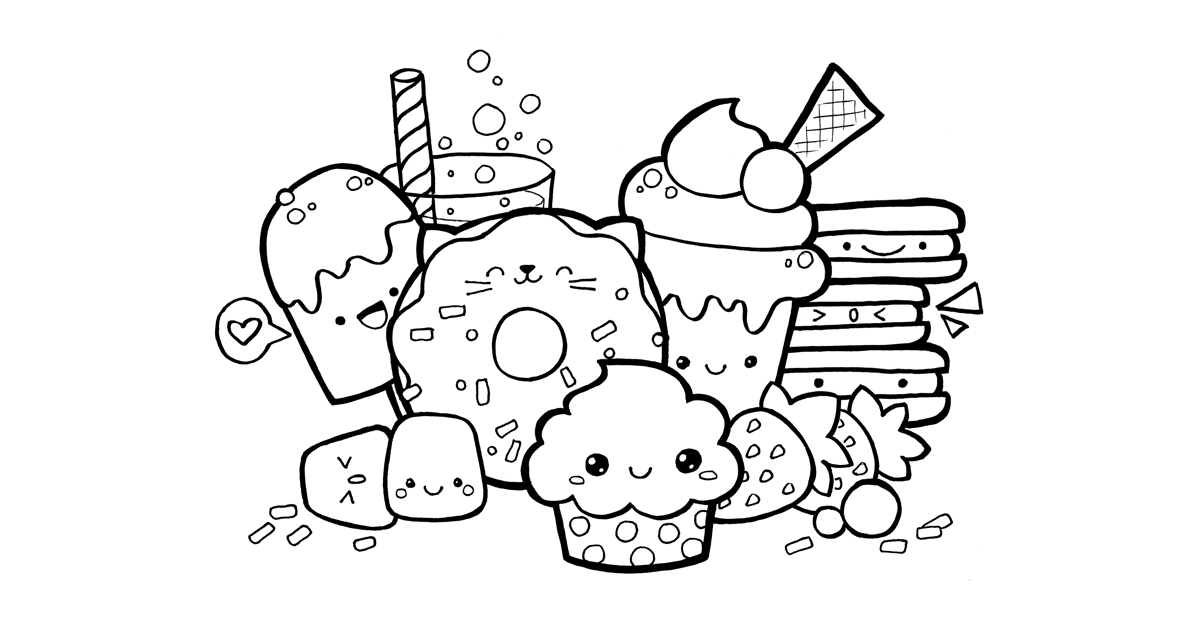 cartoon food coloring pages pin by isabel porto on kawaii coloring unicorn coloring coloring cartoon pages food