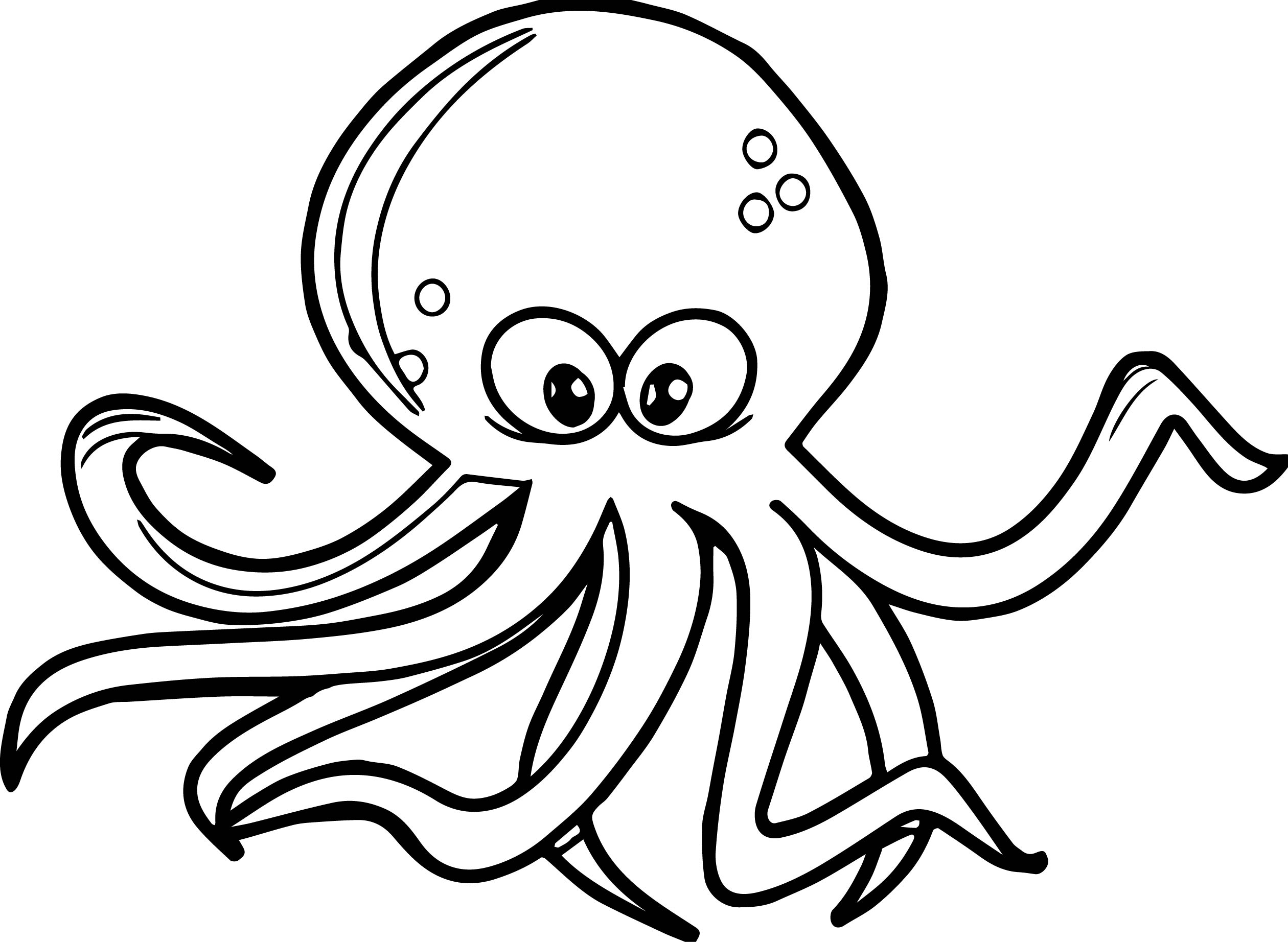 cartoon octopus coloring pages octopus cartoon coloring page wecoloringpagecom coloring octopus cartoon pages