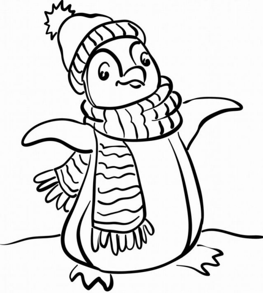 cartoon penguin coloring pages cartoon penguin coloring pages clipartsco cartoon coloring penguin pages
