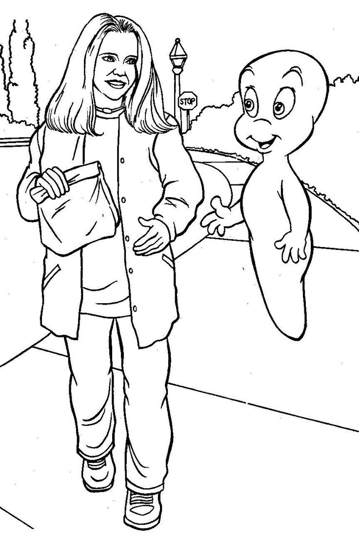 casper the ghost coloring pages casper the friendly ghost coloring page coloring pictures the ghost pages casper coloring