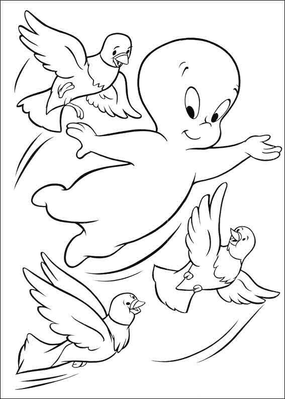 casper the ghost coloring pages casper the friendly ghost coloring pages at getcolorings coloring casper the pages ghost