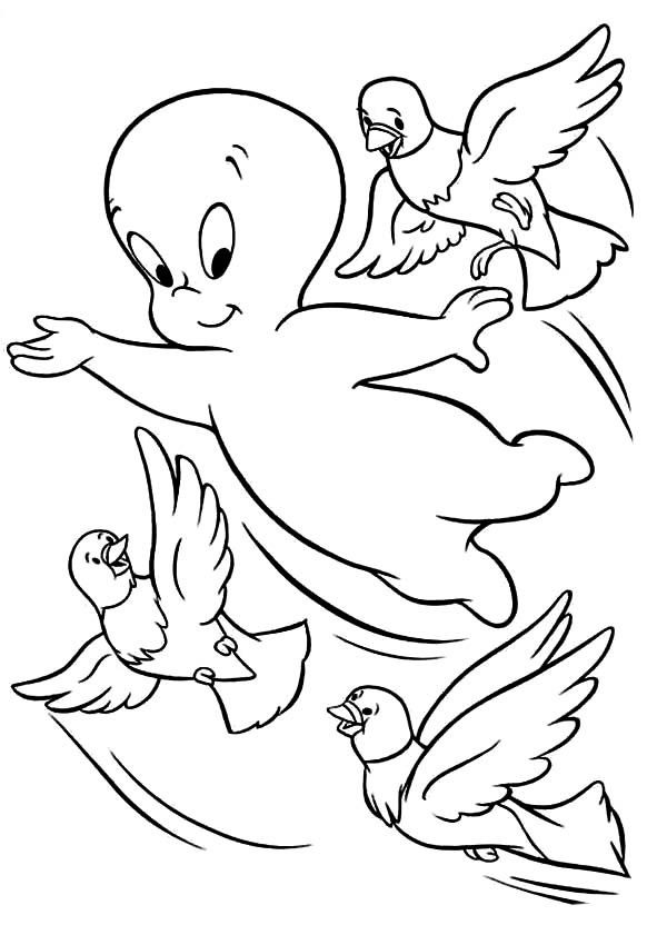 casper the ghost coloring pages casper the friendly ghost coloring pages at getdrawings coloring pages ghost the casper