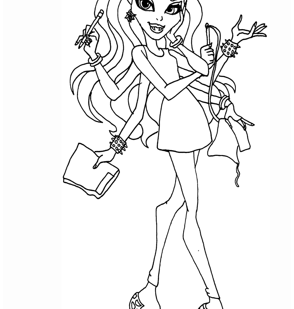 catty noir coloring pages catty noir from monster high coloring pages free coloring catty pages noir