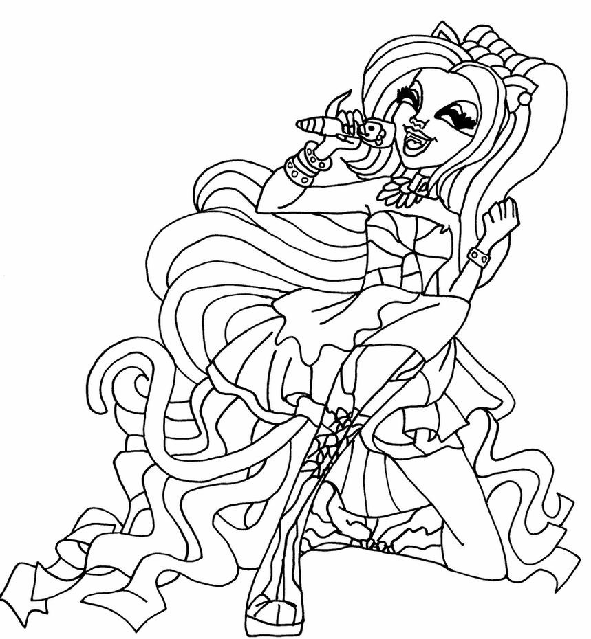 catty noir coloring pages monster high coloring pages catty noir at getcoloringscom coloring pages catty noir
