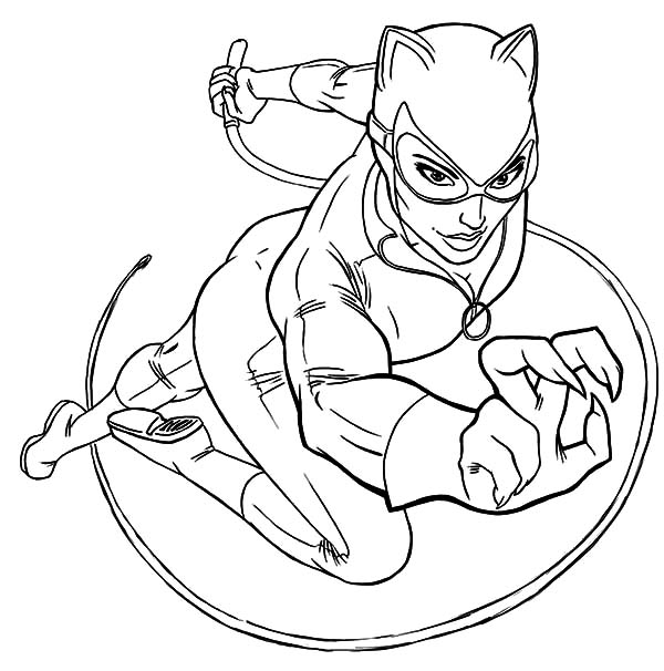 catwoman printable coloring pages catwoman coloring page coloring home catwoman coloring pages printable