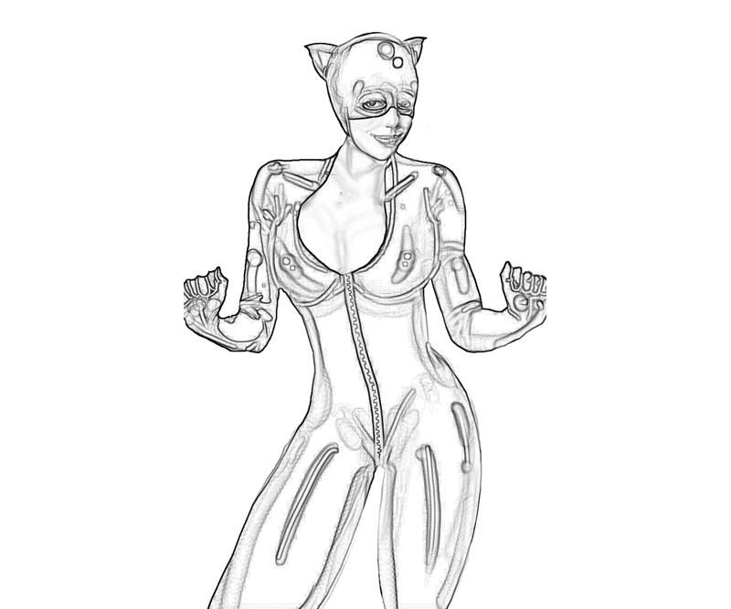 catwoman printable coloring pages catwoman coloring pages coloring pages to download and print catwoman printable pages coloring