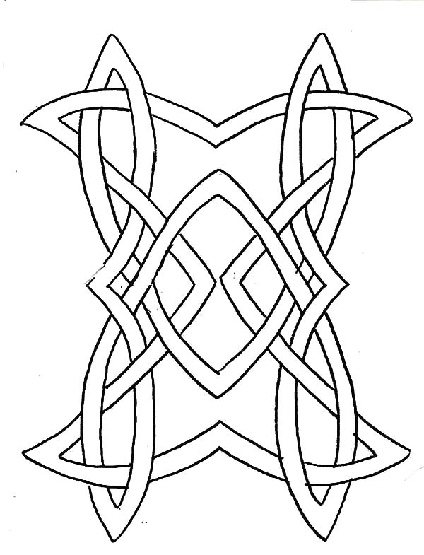celtic designs coloring pages celtic knots drawing at getdrawings free download coloring designs celtic pages