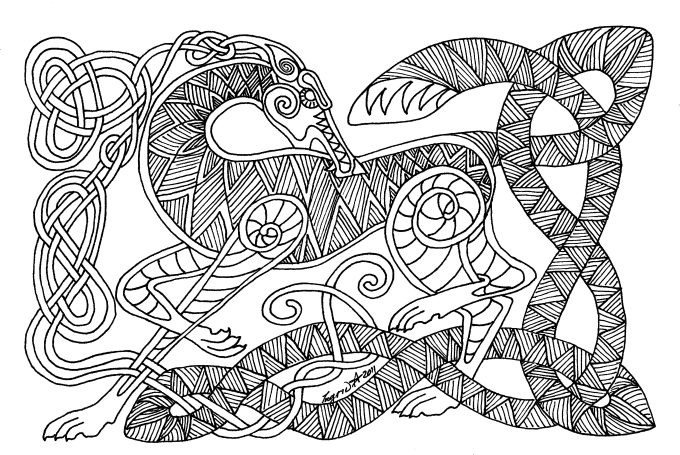 celtic drawings celtic line drawing at getdrawings free download drawings celtic