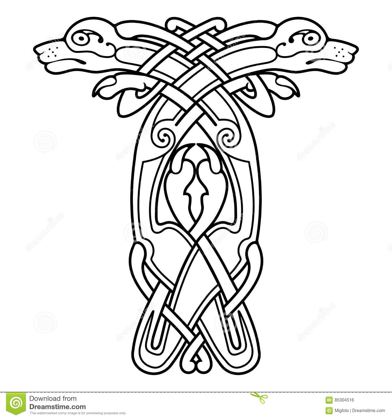 celtic drawings celtic national drawing stock vector illustration of drawings celtic