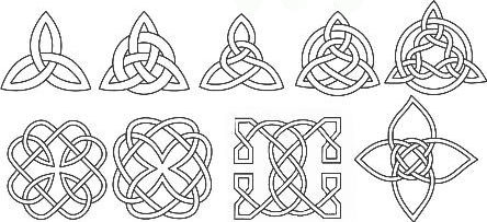 celtic drawings how to draw a celtic clover knot step by step st drawings celtic
