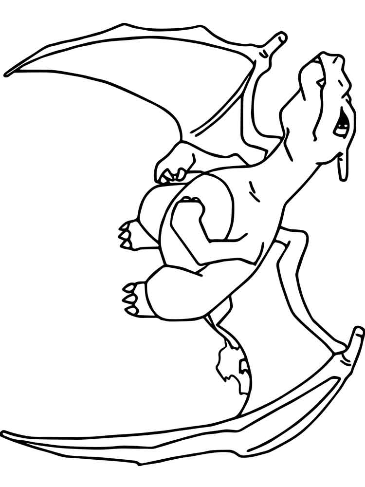 charizard coloring pages to print charizard coloring page at getcoloringscom free charizard print pages coloring to