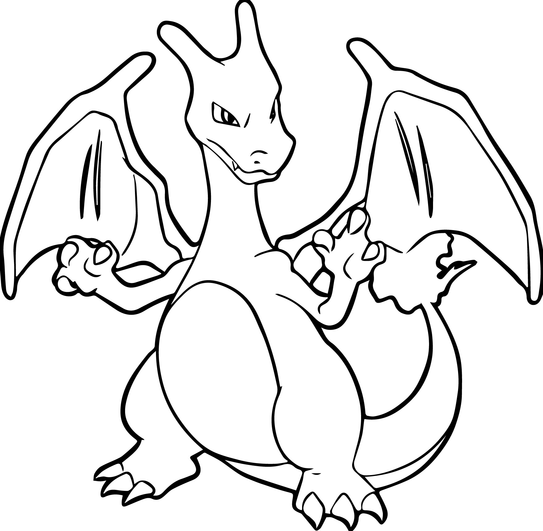 Charizard coloring pages to print