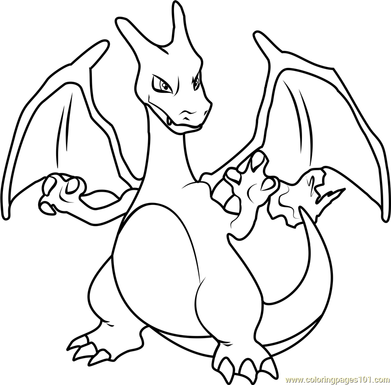 charizard coloring pages to print pokemon coloring pages mega charizard x at getcolorings pages coloring print charizard to