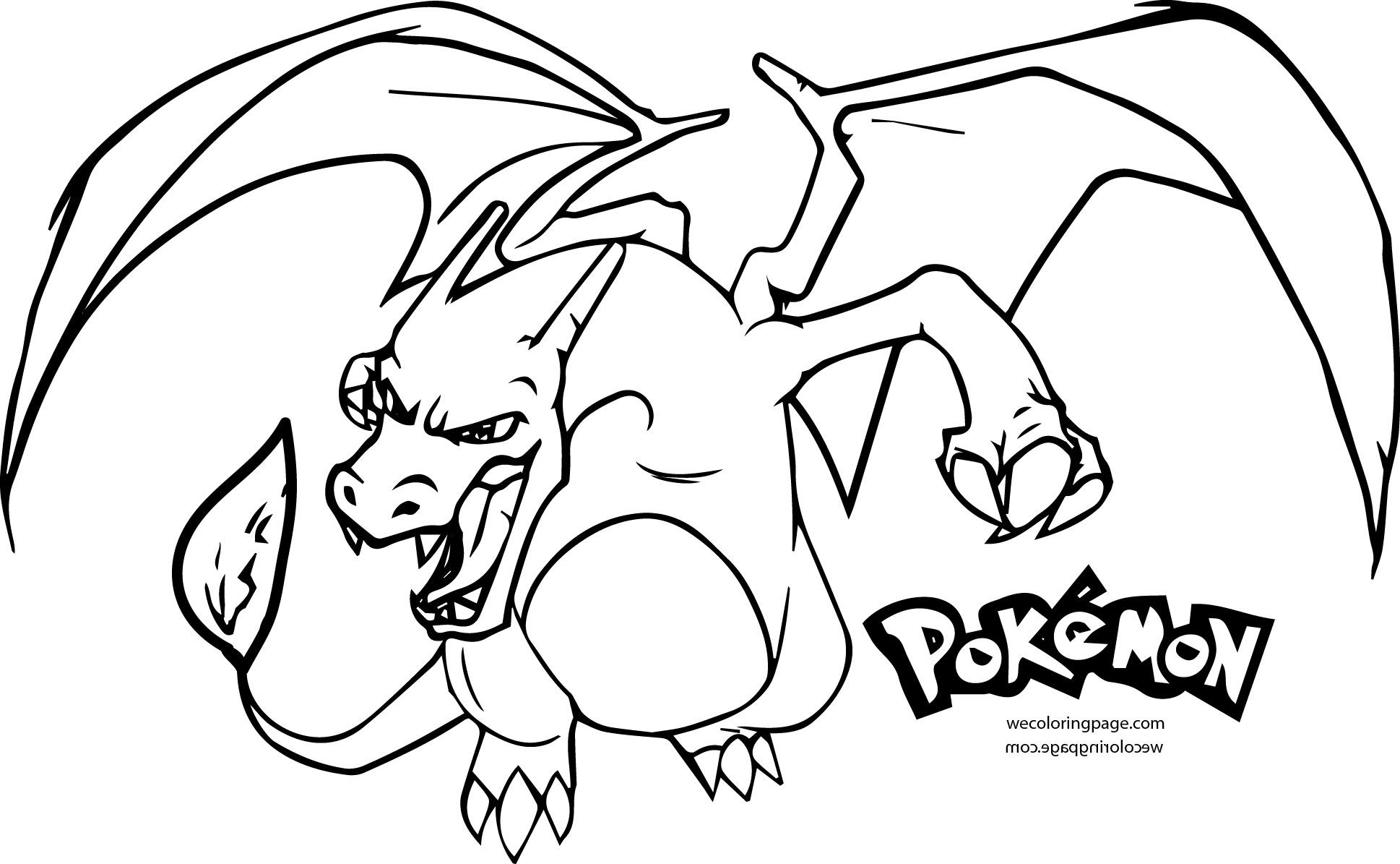 charizard y coloring page mega charizard x brush outline by ryuujashin on deviantart charizard y page coloring 1 1